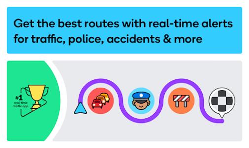 Waze - GPS, Maps, Traffic Alerts & Live Navigation 4.78.0.0 beta (Chuppito Mod)