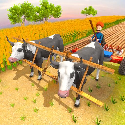Real Taur Fermă Sat Agricultura Simulator Jocuri