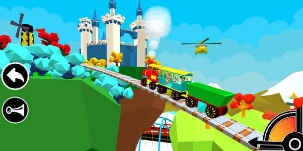 3D Train Engine Driving Game For Kids & Toddlers 1.8 [Mod + APK] Android 3