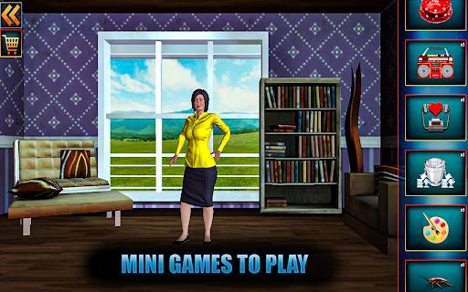 Evil Scary Teacher Creepy Game: Horror House 3D screenshots 3
