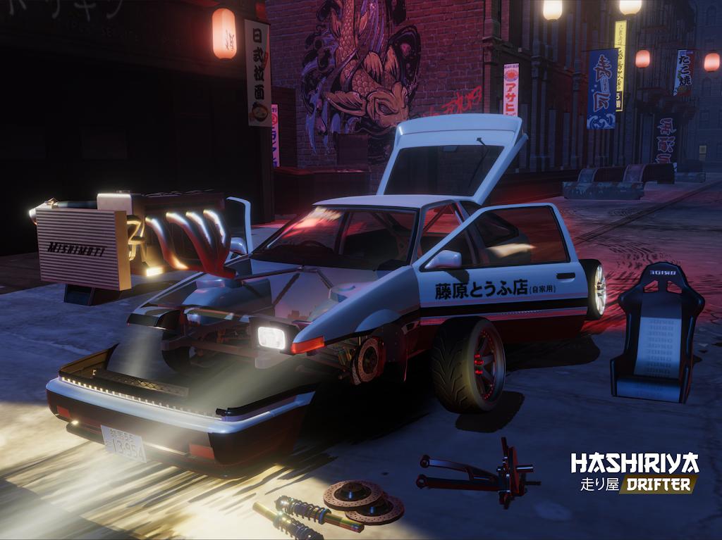 Hashiriya Drifter Online Drift Racing Multiplayer MOD poster 15