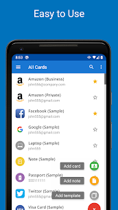 Password Manager SafeInCloud Pro Apk (Mod/Paid) 3