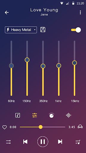 Music player - MP3 player & Audio player android2mod screenshots 5