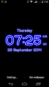 Neon Digital Clock Live For Pc – Free Download On Windows 10, 8, 7 2