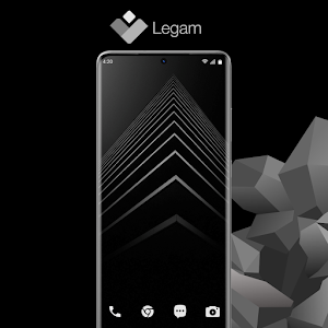 Legam - Black Icon Pack Amoled 4.4.1 (Patched)