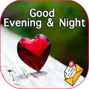 Good night & evening messages with pictures GIFs