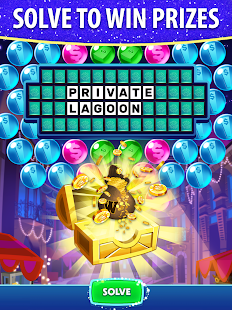 Bubble Pop: Wheel of Fortune! Puzzle Word Shooter Apkfinish screenshots 9