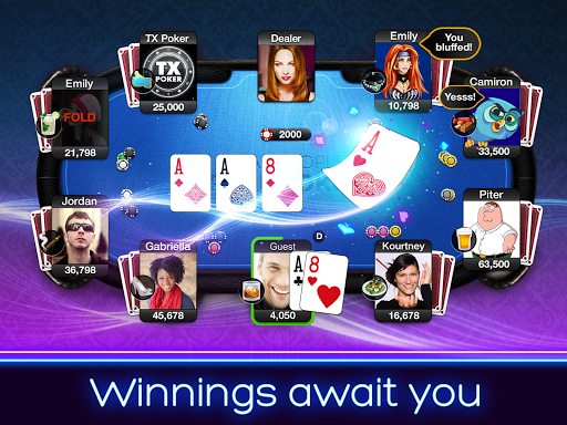 TX Poker - Texas Holdem Poker 2.35.0 screenshots 2