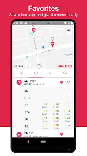 singabus - singapore bus timing + mrt app sg screenshot 3