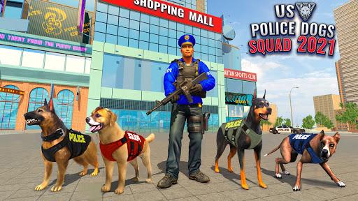 US Police Dog Shopping Mall Crime Chase 2021 apkdebit screenshots 4