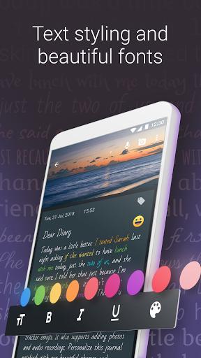 Diary - Journal Notebook & Mood tracker notes apktram screenshots 4