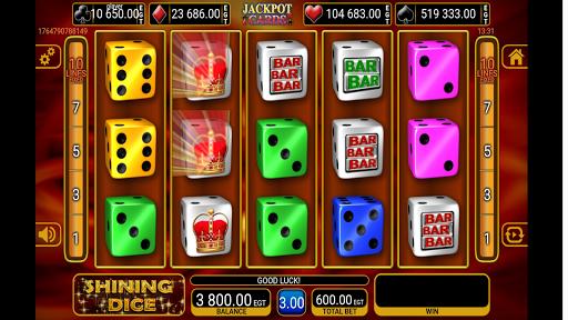shining crown dice slot screenshot 2