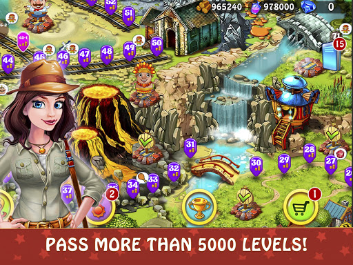 Magica Travel Agency - Match 3 Puzzle Game 1.2.9 screenshots 20