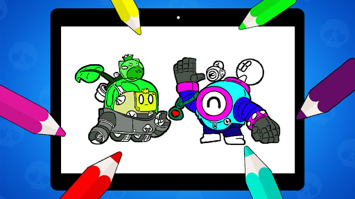 Coloring Pages for Brawl BS  screenshots 24