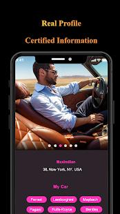 Sugar Daddy Dating - Elite Millionaire Luxy Dating 3.2.0 Screenshots 3