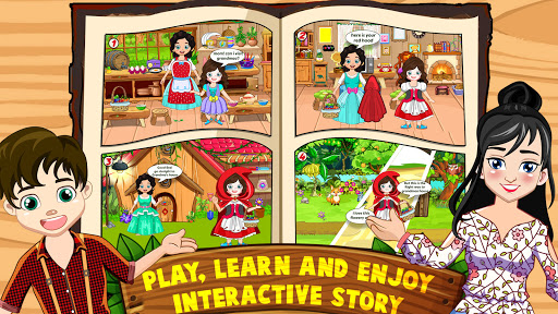 Mini Town: Red Riding Hood Fairy Tale Kids Games 2.3 screenshots 2