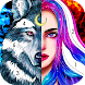 Beauty&Beast Coloring: Free coloring games offline - Androidアプリ