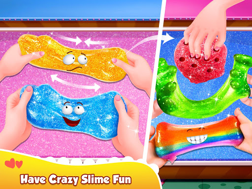 Glitter Slime Maker - Crazy Slime Fun screenshots 9
