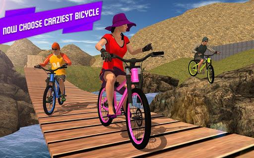 BMX Offroad Bicycle rider Superhero stunts racing screenshots 7