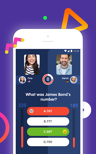 10s - Online Trivia Quiz with Video Chat apklade screenshots 2