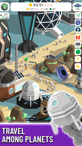 Space Colony: Idle 2.9.7 screenshots 7