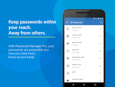 ManageEngine Password Manager Pro 3.3.3 Mod + Data (APK) Full 1
