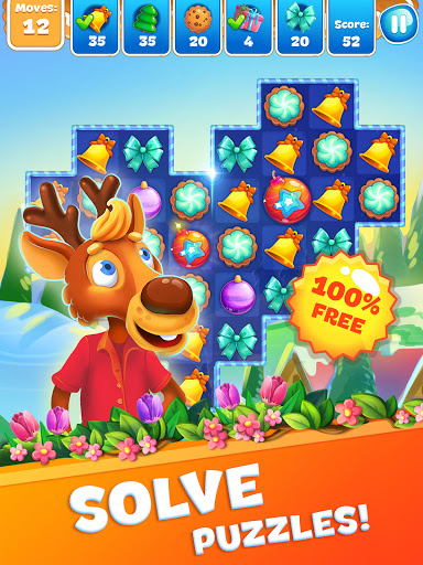 Christmas Sweeper 3 - Puzzle Match-3 Game 6.2.0 screenshots 11
