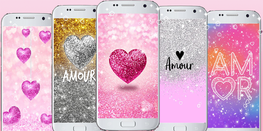 Download Cute Glitter Wallpapers Love Backgrounds On Pc Mac With Appkiwi Apk Downloader