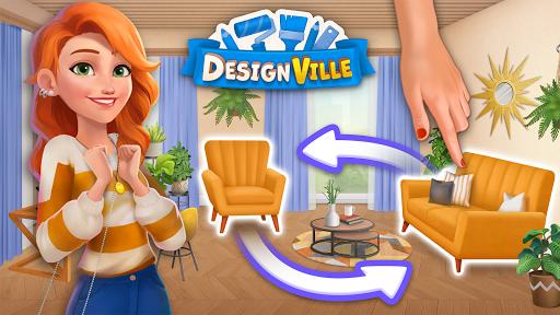 DesignVille: Home, Interior & Garden Design Game apktram screenshots 8