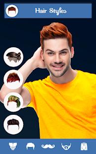 Hairy - Men Hairstyles beard & boys photo editor 6.6 Screenshots 1