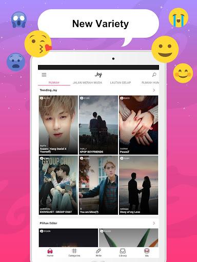 Joylada - Read All Kind of Chat Stories apktram screenshots 9