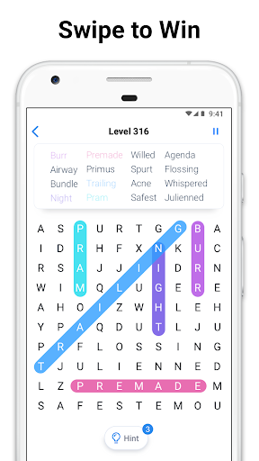 Word Search - Free Crossword and Puzzle Game 1.12.1 screenshots 3