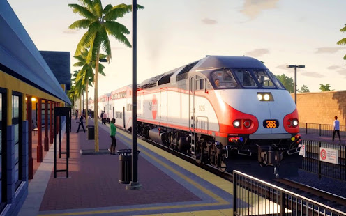 City Train Driving Simulator: Public Train 1.0.4 screenshots 2