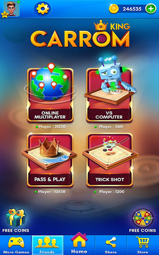 Carrom Kingu2122 - Best Online Carrom Board Pool Game 3.1.0.74 screenshots 9