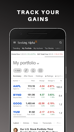 Seeking Alpha: Stock Market News & Analysis  Paidproapk.com 1