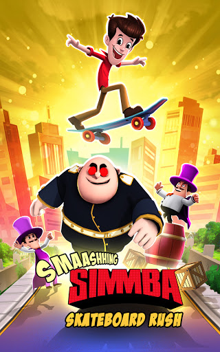 Smaashhing Simmba - Skateboard Rush android2mod screenshots 17