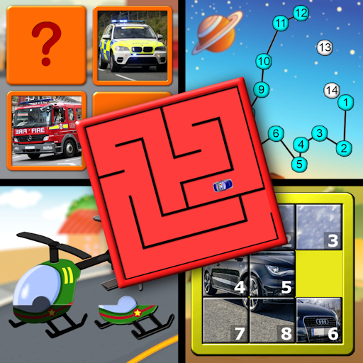 Kids Logic Memory Puzzles