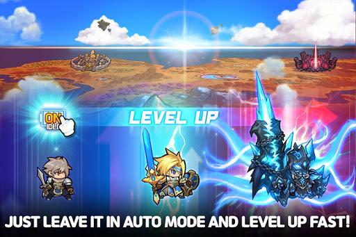 Raid the Dungeon : Idle RPG Heroes AFK or Tap Tap 1.8.1 screenshots 2
