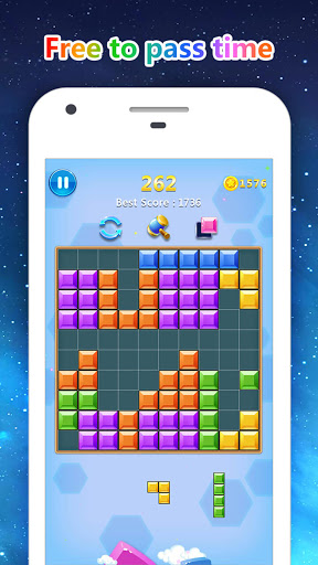 Block Gems: Classic Free Block Puzzle Games android2mod screenshots 5