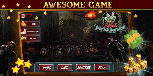Zombie Dead Target- Make Money Free APK MOD – Pièces Illimitées (Astuce) screenshots hack proof 1