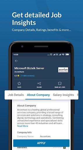 Naukri.com Job Search App: Search jobs on the go! 15.4 Screenshots 2