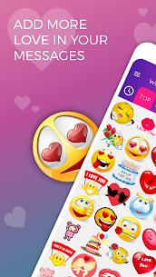 WhatsLov: Love Emojis, Stickers & WAStickerapps 6