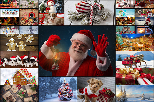 Christmas Jigsaw Puzzles Game - Kids & Adults 🎄 screenshots 1