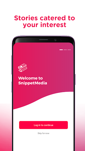 SnippetMedia Lite - News & Earn Real Cash! 1.3.0 Screenshots 1