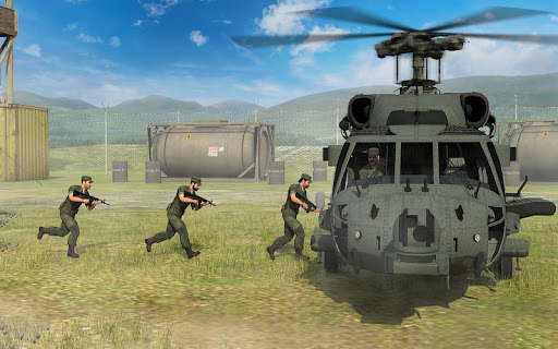 Army Helicopter Transporter Pilot Simulator 3D  screenshots 4