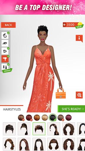 International Fashion Stylist - Dress Up Games  screenshots 4