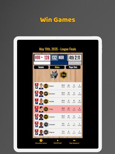 Ultimate Basketball General Manager - Sport Sim 1.2.1 screenshots 8