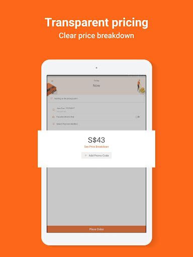 Lalamove - 24/7 On-Demand Delivery App 103.5.1 Screenshots 12