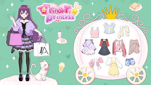 Vlinder Princess - Dress Up Games,Avatar Fairy APK MOD (Astuce) screenshots 2