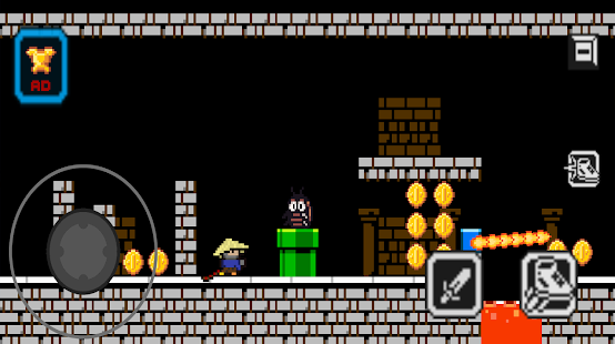 Super Waldo Bros - Retro World. 1.0 APK + Mod (Free purchase) for Android
